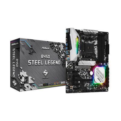 image Asrock B450 Steel Legend AMD B450 Emplacement AM4 ATX