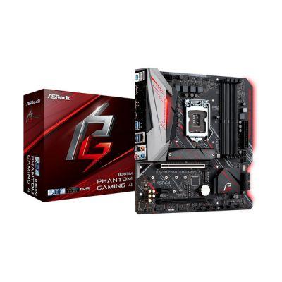 image Carte Mère ASRock B365M Phantom Gaming 4 (Intel LGA 1151 v2) Micro ATX