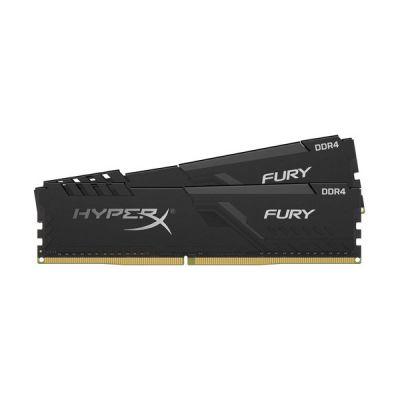 image HyperX FURY Black HX437C19FB3K2/16 Mémoire 16Go Kit*(2x8Go) 3733MHz DDR4 CL19 DIMM 1Rx8