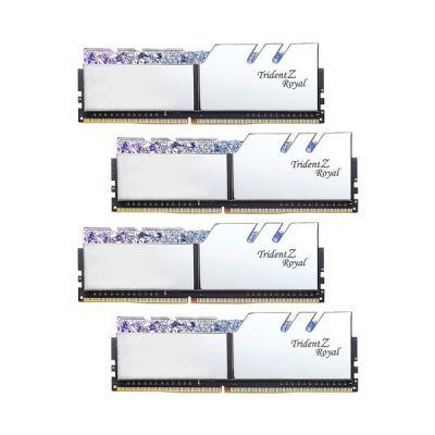 image G.Skill Trident Z Royal F4-3000C16Q-32GTRS module de mémoire 32 Go DDR4 3000 MHz - Modules de mémoire (32 Go, 4 x 8 Go, DDR4, 3000 MHz, 288-pin DIMM)