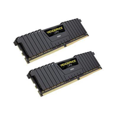 image Mémoire optimisée Corsair Vengeance LPX 64 Go (2 x 32 Go) DDR4 4000 (PC4-32000) C18 1,35 V AMD - Noir