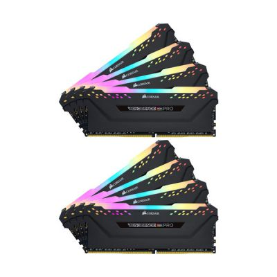 image Corsair Vengeance CMW256GX4M8E3200C16 module de mémoire 256 Go 8 x 32 Go DDR4 3200 MHz