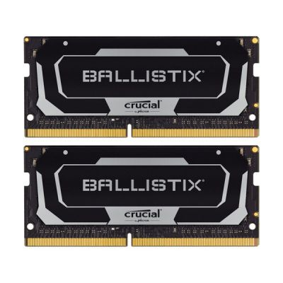image Crucial Ballistix BL2K16G26C16S4B 2666 MHz, DDR4, DRAM, Mémoire Kit pour Ordinateurs Portables de Gamer, 32Go (16Go x2), CL16