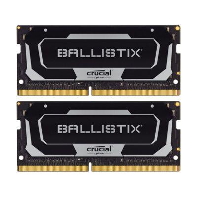 image Crucial Ballistix BL2K16G32C16S4B 3200 MHz, DDR4, DRAM, Mémoire Kit pour Ordinateurs Portables de Gamer, 32Go (16Go x2), CL16