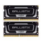image produit Crucial Ballistix BL2K16G32C16S4B 3200 MHz, DDR4, DRAM, Mémoire Kit pour Ordinateurs Portables de Gamer, 32Go (16Go x2), CL16