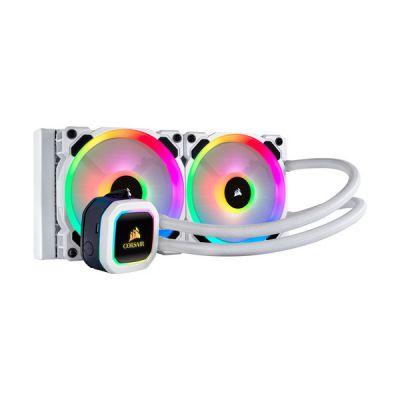 image Corsair H100i RGB Platinum Blanc - 240 mm