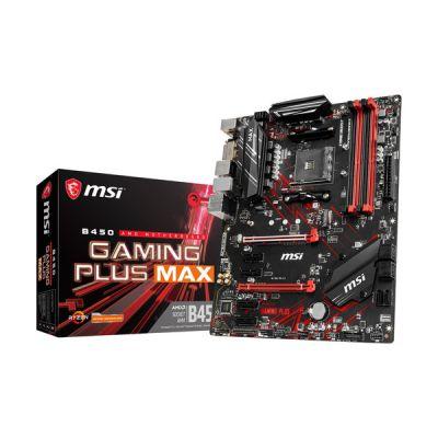 image MSI B450 Gaming Plus Max (Prise AM4/B450/DDR4/S-ATA 600/ATX)