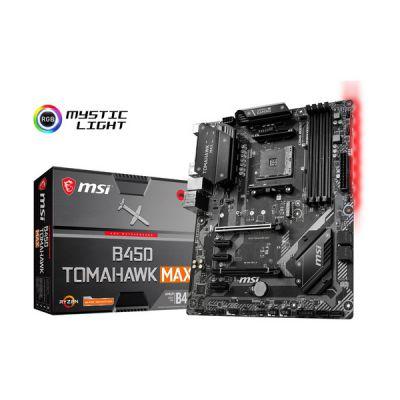 image MSI B450 Tomahawk Max (Prise AM4/B450/DDR4/S-ATA 600/ATX)