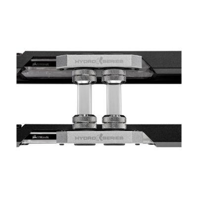 image Corsair Hydro X Series, XT Hardline, Kit Multicartes 12 mm (Prédécoupé pour SLI et CrossFire X, Tube Chanfreiné, Construction en PMMA solide) Noir