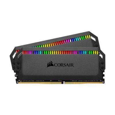 image DDR4 Corsair Dominator Platinum RGB - 32 Go (2 x 16 Go) 3200 MHz - CAS 16