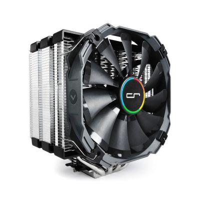 image Cryorig Micocr-H5-Ultimat Ventilateur Pour Processeur Intel (76 Cfm, 19 ~ 23 Dba, 700 ~ 1300 Rpm) Noir