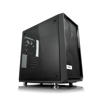 image Fractal Design Meshify C Mini – Dark TG Mini Tower Noir