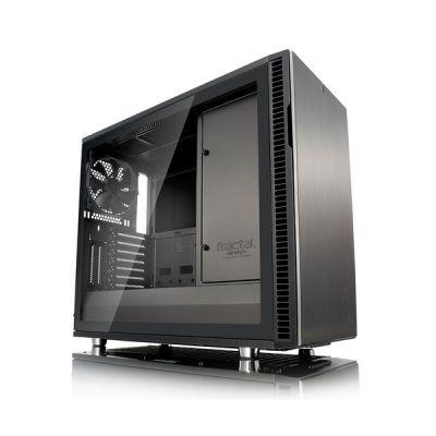 image Fractal Design FD-CA-DEF-R6C-GY-TGL Boîtier pour PC Noir