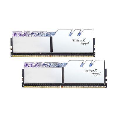 image G.Skill F4-4600C18D-16GTRS TRIDENT Z Royal Series, DDR4-4600, CL18 - 16 GB D, Argent