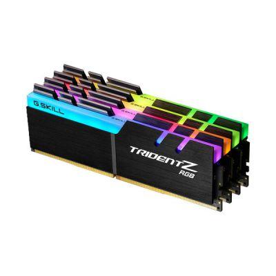 image DDR4 G.Skill Trident Z RGB - 32 Go (4 x 8 Go) 3200 MHz - CAS 16