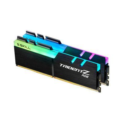 image DDR4 G.Skill Trident Z RGB - 32 Go (2 x 16 Go) 3200 MHz - CAS 16