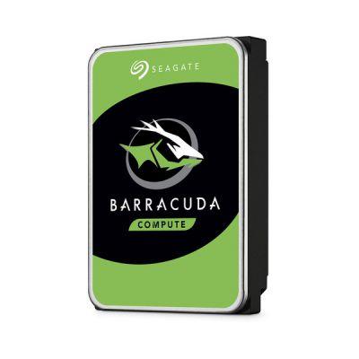 """image Seagate BarraCuda, 2 To, Disque dur interne HDD – 3,5"""" SATA 6 Gbit/s 7 200 tr/min, 256 Mo de mémoire cache, pour PC de bureau , Ouverture facile (ST2000DMZ08)"""