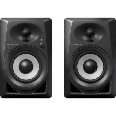 image Pioneer DJ DM-40BT Bluetooth Studio Monitors, Black