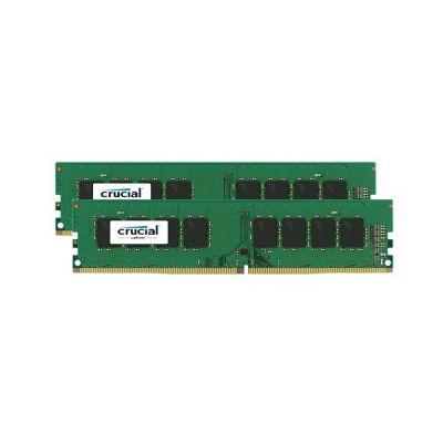 image Crucial RAM CT2K16G4DFD824A 32Go Kit (2x16Go) DDR4 2400 MHz CL17 Mémoire de bureau