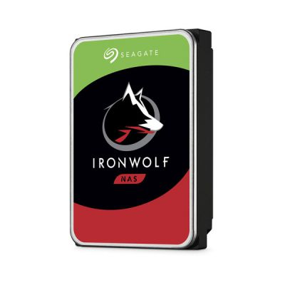 "image Seagate IronWolf 3 To, Disque dur interne NAS HDD, CMR 3,5"" SATA 6 Gbit/s 5 900 tr/min, 64 Mo de mémoire cache, pour NAS RAID, services Rescue valables 3 ans (ST3000VN007)"