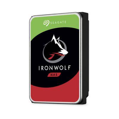"image Seagate IronWolf 4 To, Disque dur interne NAS HDD, CMR 3,5"" SATA 6 Gbit/s 5 900 tr/min, 64 Mo de mémoire cache, pour NAS RAID, services Rescue valables 3 ans (ST4000VN008)"
