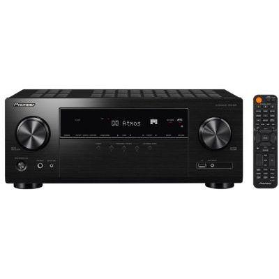image Pioneer VSX-934 Récepteur AV 7.2 (7x160 Watt, Dolby Atmos, DTS:X, Dolby Atmos Height Virtualizer, Sonos, Zone 2, AirPlay 2, Bluetooth, USB), Noir