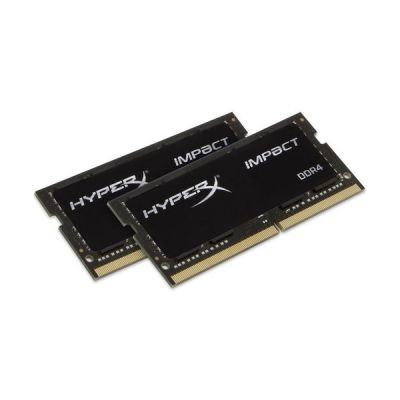 image HyperX Impact HX424S14IBK2/8 Mémoire 8Go Kit*(2x4Go) 2400MHz DDR4 CL14 SODIMM