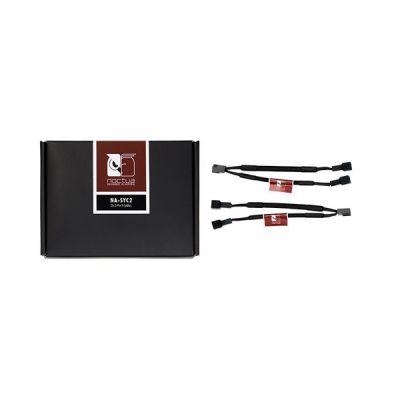 image Noctua NA-SYC2, Câble en Y 3 broches pour Ventilateurs de PC (Noir)