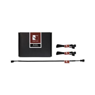 image 3 x Câble rallonge 3 broches Noctua NA-SEC2 - 30 cm - Noir