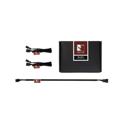 image 3 x Câble rallonge alimentation 4 broches Noctua NA-SEC1 - 30 cm - Noir