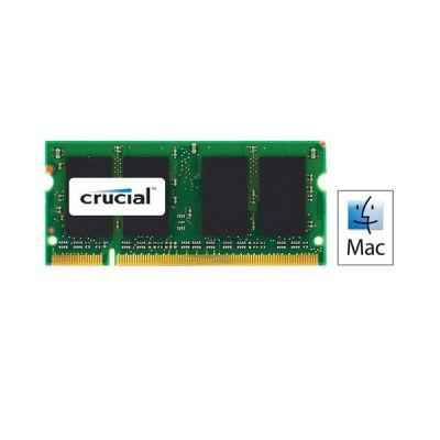 image Crucial CT4G3S1067M 4Go (DDR3/DDR3L, 1066 MT/s, PC3-8500, SODIMM, 204-Pin) Mémoire pour Mac