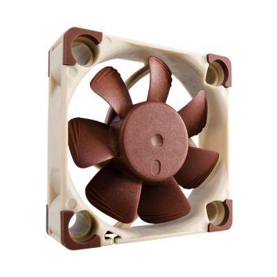 image Noctua NF-A4x10 FLX, Ventilateur Silencieux Haut de Gamme, 3 Broches (40x10 mm, Marron)