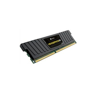 image Corsair CML8GX3M1A1600C10 Vengeance LP 8GB (1x8GB) DDR3 1600 Mhz CL10 Mémoire pour ordinateur de bureau performante avec profil XMP. Noir