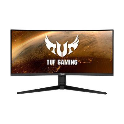"image ASUS TUF Gaming VG34VQL1B - Ecran PC 34"" UWQHD - Dalle VA incurvée 1500R - 21:9 - 165Hz - 1ms - 3440x1440 - 550cd/m² - 2x Display Port, 2x HDMI & 4x USB 3.0 - AMD FreeSync Premium - ELMB - HDR 400"