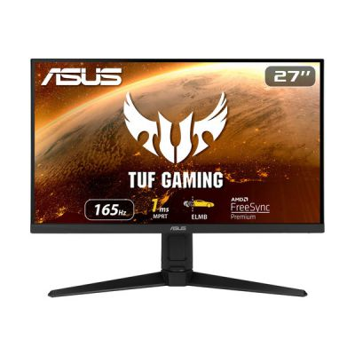 "image ASUS TUF Gaming VG279QL1A - Ecran PC Gamer eSport 27"" FHD - Dalle IPS - 165Hz - 1ms - 16:9 - 1920x1080 - 400cd/m² - Display Port & 2x HDMI - Nvidia G-Sync - Extreme Low Motion Blur - HDR 400"