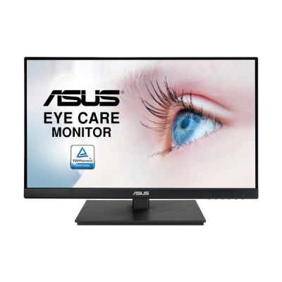 "image ASUS VA229QSB - Ecran PC 21,5"" FHD - Dalle IPS - 16:9 - 75Hz - 1920x1080 - 250cd/m² - Display Port, HDMI, VGA & 2x USB - AMD FreeSync - Fixation VESA - Haut-parleurs - Ajustement hauteur et pivot"