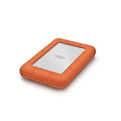 """image LaCie Rugged Mini, 5 To, USB 3.0 Portable 2.5"""", Disque Dur Externe pour PC et Mac, Résistant aux Chocs, Chutes et à la Pression, services Rescue valables 2 ans (STJJ5000400)"""