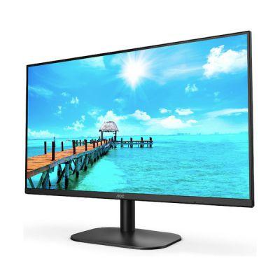 image AOC Écran 27B2H 68cm (27pouces) (VGA, HDMI, résolution 1920x1080, 75Hz, temps de réponse 5ms) noir