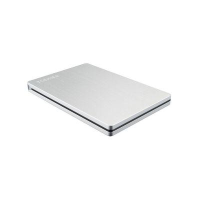 image Toshiba - Disque dur externe Canvio Basics 2019 Slims 2 To 2TB, HDTD320ES3EA
