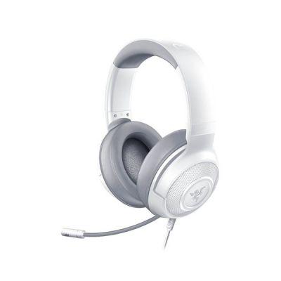 image Razer Kraken X Mercury - Casque de Jeu (Casque de Jeu Ultra-Léger pour PC, Mac, Xbox One, PS4 et Switch, Rembourrage du Bandeau, son Surround 7.1) Blanc