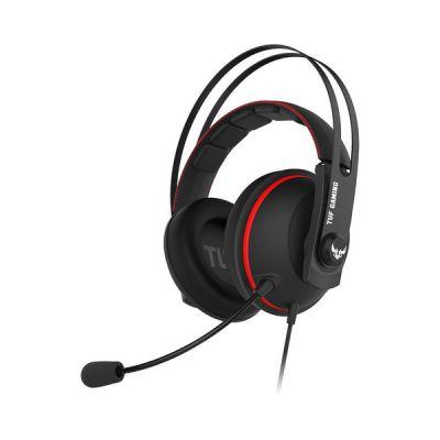 image ASUS - Casque Gaming ASUS TUF H7 Core - Red - Prise jack 3.5 mm