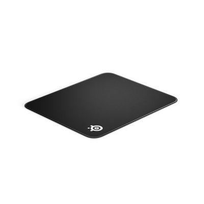 image SteelSeries QcK Edge - Tapis de souris de jeu en tissu - Bords à couture anti-effilochage - Optimisé pour les capteurs de jeu - Taille M (320mm x 270mm x 2mm)
