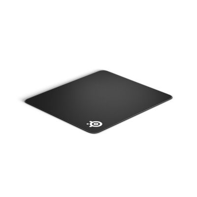 image SteelSeries QcK Edge L - Tapis de souris de jeu en tissu - Bords à couture anti-effilochage - Optimisé pour les capteurs de jeu - Taille L (450mm x 400mm x 2mm)