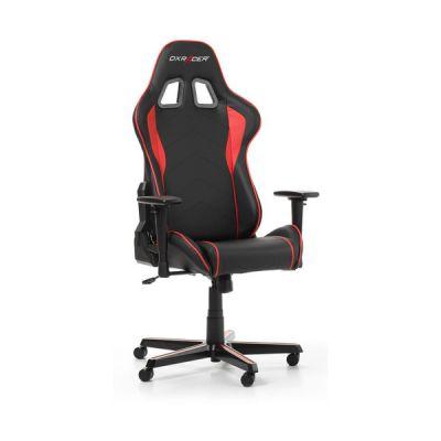 image DXRacer (l'original) Formula F08 Chaise Gaming, Similicuir, Noir & Rouge, 145-180 cm