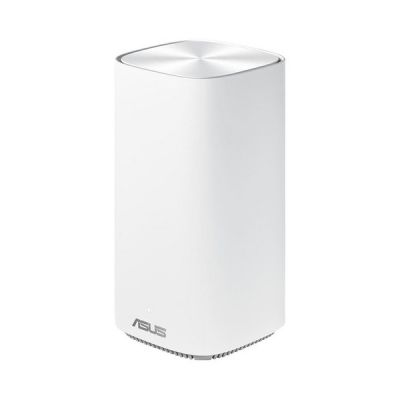 image ASUS ZenWiFi CD6 Blanc - Système Wi-Fi AC Mesh, Double Bande (2,4 GHz / 5GHz), 1500 Mbit/s, 500m2, AiProtection avec TrendMicro à vie