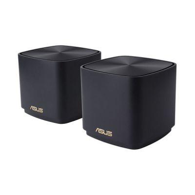 image ASUS ZenWiFi XD4 - Système Wi-Fi 6 AX1800 maillé pour toute la maison avec couverture jusqu'à 446 m2 / +5 pièces, configuration simplifiée, sécurité réseau gratuite à vie et contrôles parentaux