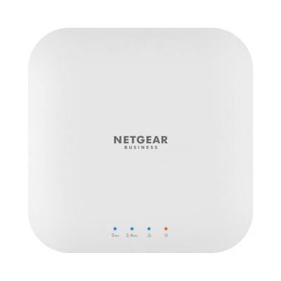 image NETGEAR Point d'accès WiFi 6 (WAX214) - Vitesse WiFi 6 Dual-Band AX1800 | 1 port PoE 1G Ethernet | 802.11ax | Sécurité WPA3 | Créez jusqu'à 4 réseaux sans fil distincts