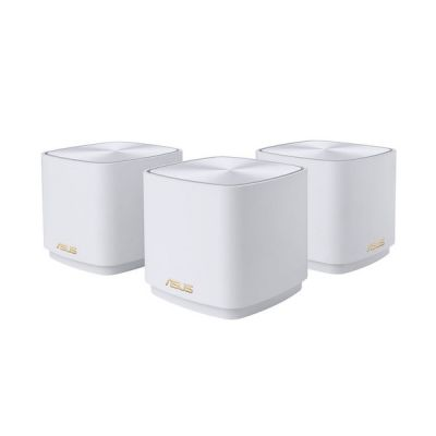 image ASUS Système AX1800 Maille Wi-Fi 6 – Couverture jusqu'à 400 m² - Configuration Facile, sécurité réseau sans Vie et contrôle Parental
