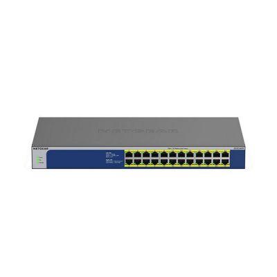 image NETGEAR (GS524PP) SwitchEthernet PoE 8ports Gigabit (10/100/1000), switch RJ45 avec 24ports PoE+ @ 300W, Silencieux, bureau/rack et protection à vie ProSAFE