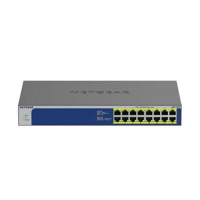 image NETGEAR (GS516PP)Switch PoE 16ports Gigabit Ethernet, switch RJ45 avec 16ports PoE+ @ 260W, Silencieux, bureau/rack et protection à vie ProSAFE